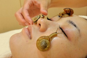Massages aux escargots